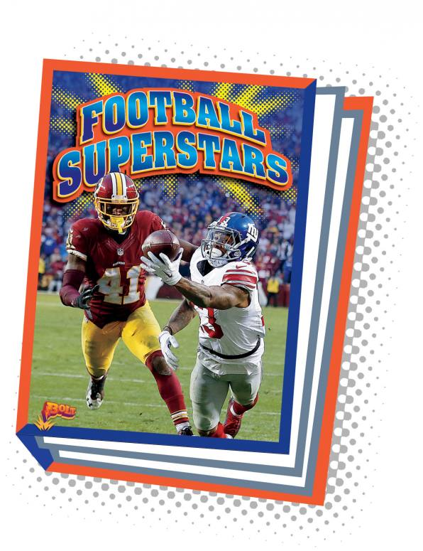 Football Superstars (Paperback)