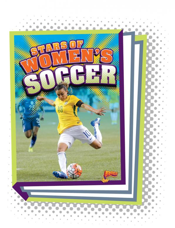 Stars of Women's Soccer (Paperback)