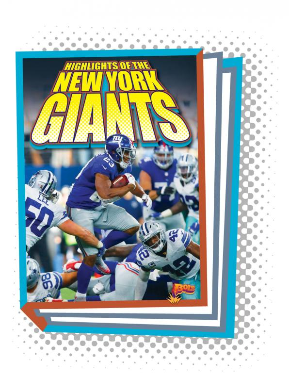 Highlights of the New York Giants