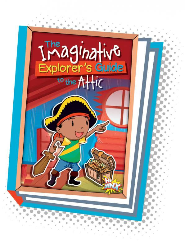 The Imaginative Explorer's Guide to the Attic (Paperback)
