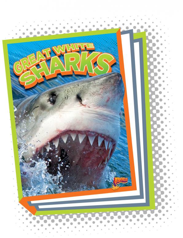 Great White Sharks (Paperback)