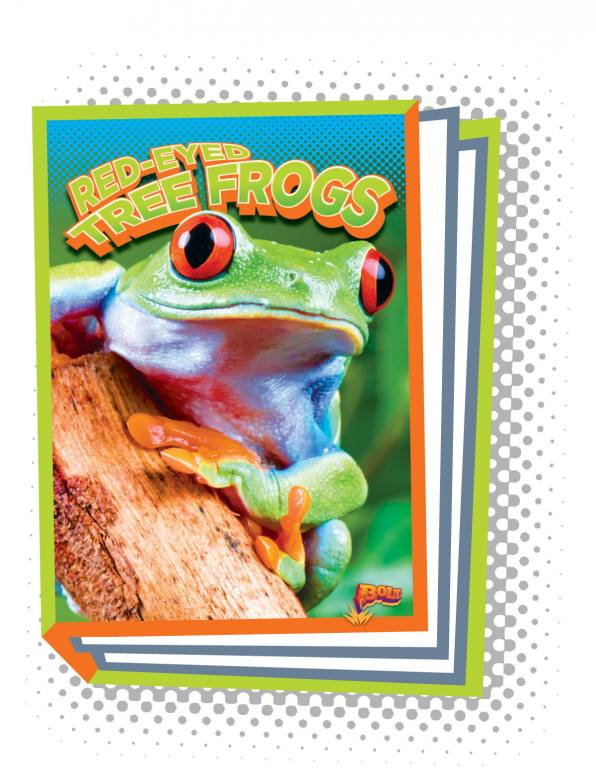 Red-Eyed Tree Frogs (Paperback)