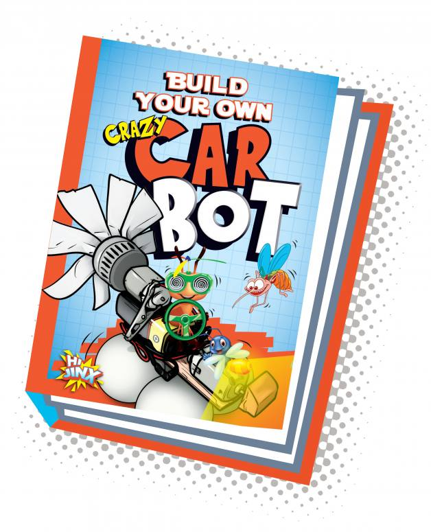 Build Your Own Crazy Car Bot (Paperback)