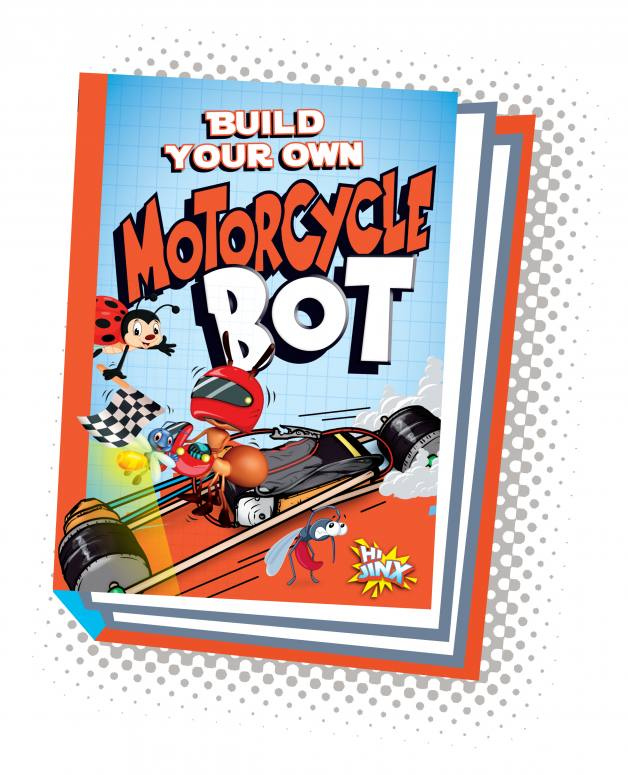 Build Your Own Motorcycle Bot (Paperback)