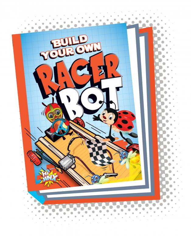 Build Your Own Racer Bot (Paperback)