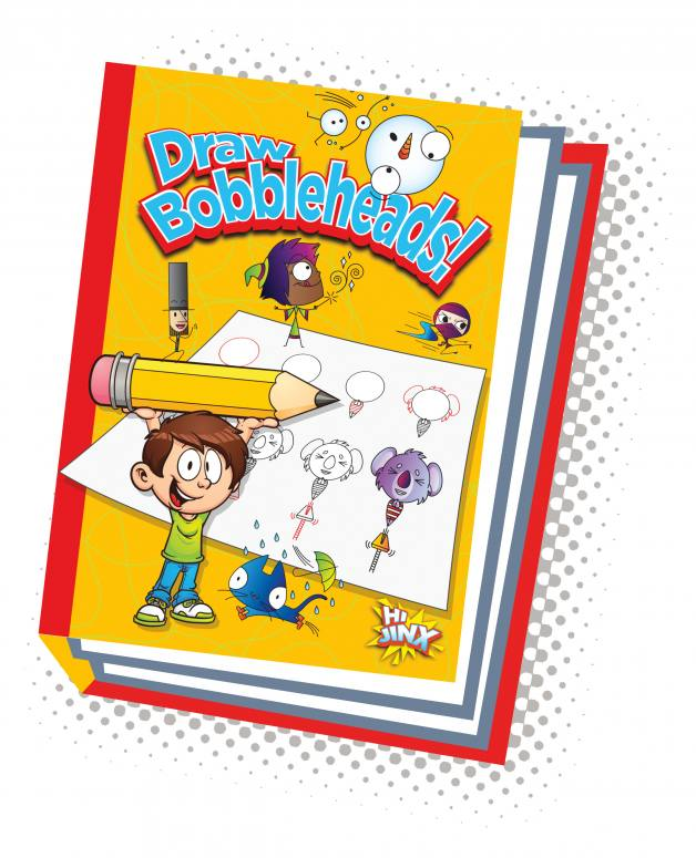 Draw Bobbleheads! (Paperback)