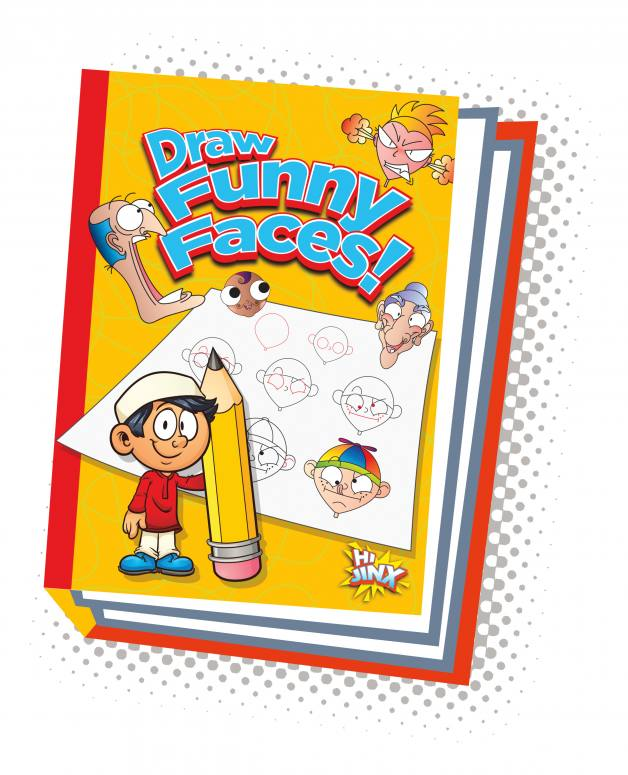 Draw Funny Faces! (Paperback)
