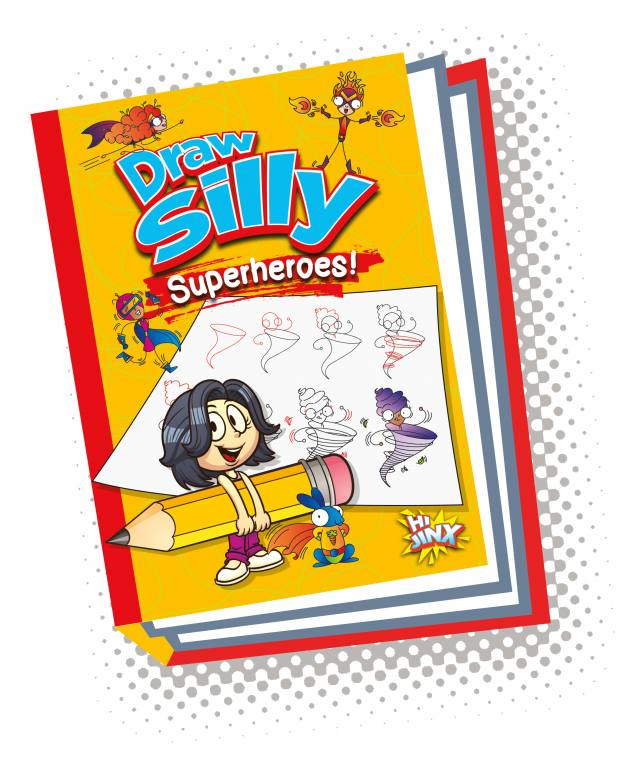 Draw Silly Superheroes!