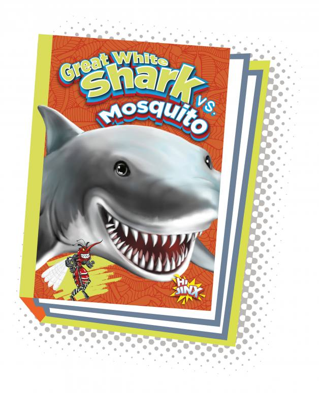 Great White Shark vs. Mosquito